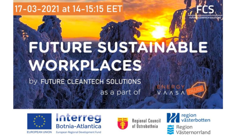 Future Sustainable Workplaces